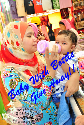 Baby With Bottle Give Away!!