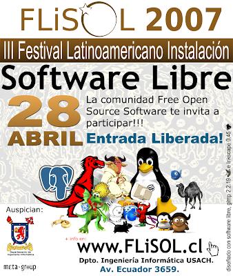 FLiSOL Santiago 2007