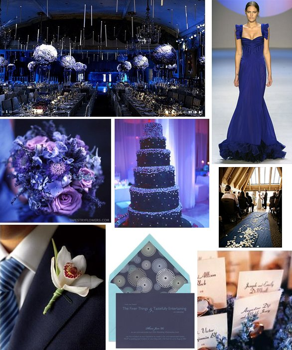 blue and yellow weddings | Reference Wedding Decoration