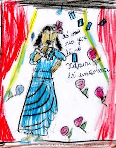 MASCOTE DO BLOG (Desenhado pela aluna Ana Luiza, da 2ª série da Escola de Aplicação da UFPA)