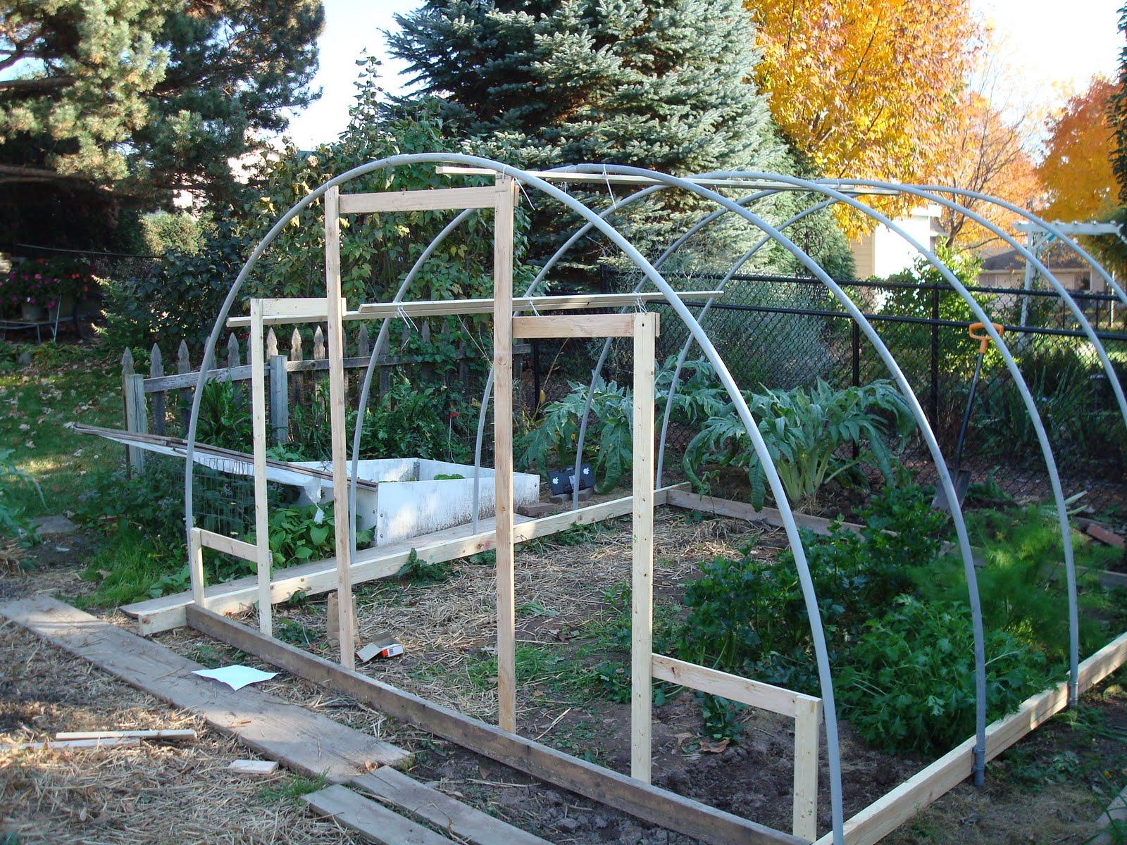 The Ve able Garden New Hoop House