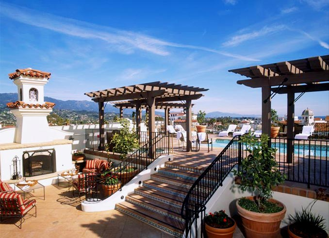 Memorial day travel idea 6 san diego and santa barbara for Hotel design canaries
