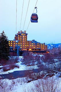 Beaver Creek The Westin Riverfront gondola