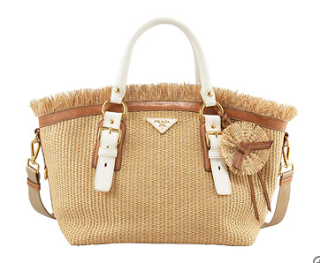 straw bag prada