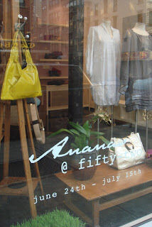 Ananas Pop Up store