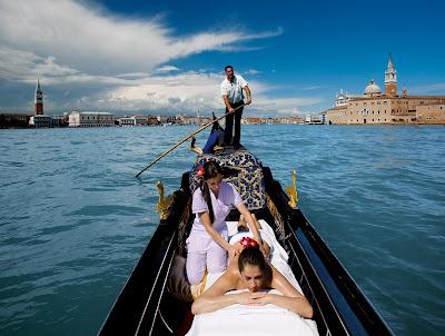 gondola massage hotel cipriani