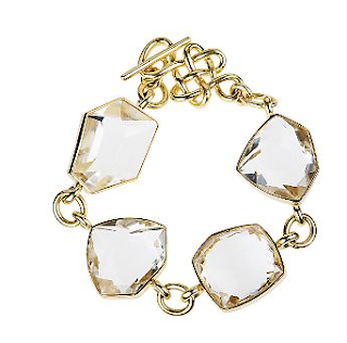 DVF H. Stern rock crystal bracelet