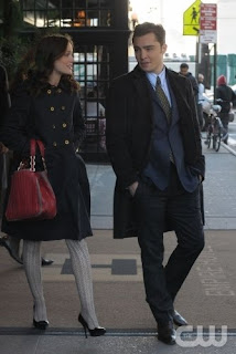 Blair and Chuck at the Empire Hotel