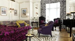 Diane Von Furstenberg piano suite claridges
