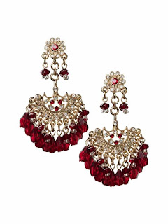 Banana Republic Cabernet Chandelier Earrings