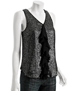 Adam sequin tank