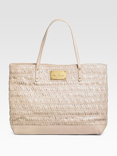 Rebecca Minkoff Cherish Lattice Leather Tote