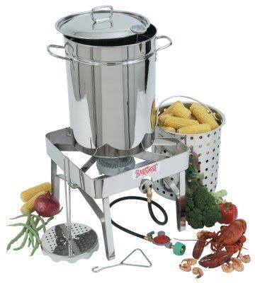 Stainless Steel Turkey Fryer kit