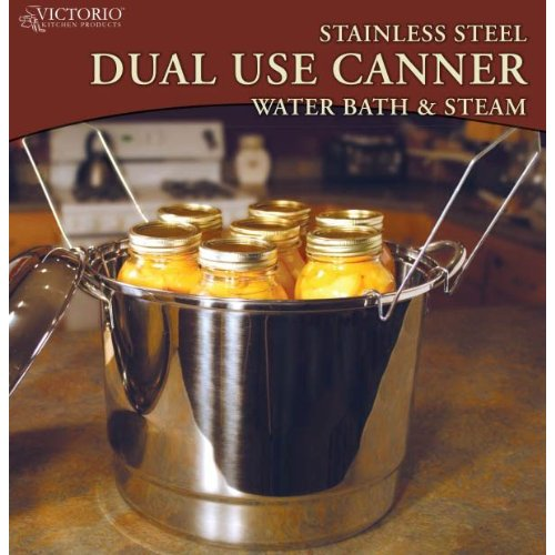 Water bather canner plus steam canner