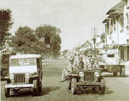 Jalan Malioboro tahun 1949