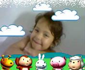 Simona, fetiţa mea