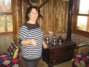 ELA CAFE GÖZLEME - Yeşilvadi'de Kasım sonunda bir yaz günü