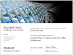 Certificação Autodesk Revit 2010