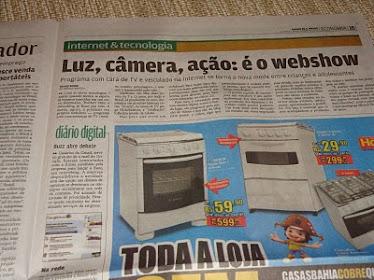Jornal DIÁRIO DE SAO PAULO - SP