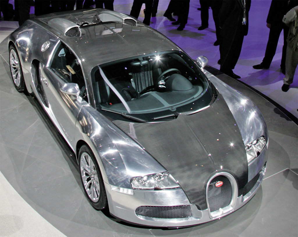 Rooney blogs: Bugatti Veyron