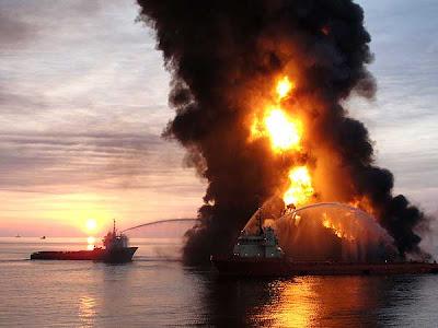 amaneciendo Fotos del desastre en el Golfo de México
