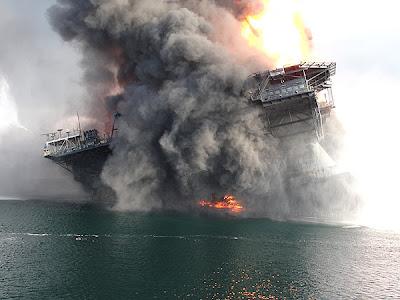 cayendo Fotos del desastre en el Golfo de México
