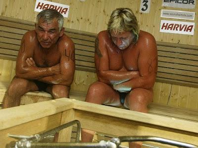 victima+sauna Fallece un participante del Campeonato Mundial de Sauna