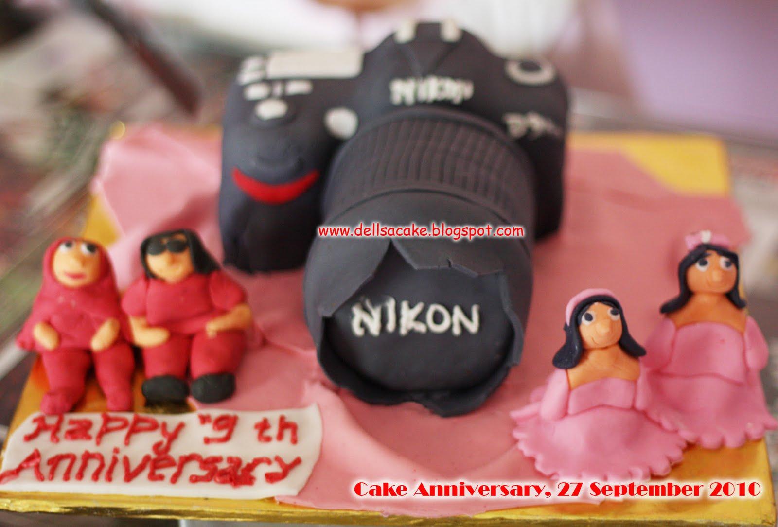 dapurnya mama della dan salma camera cake nikon d90