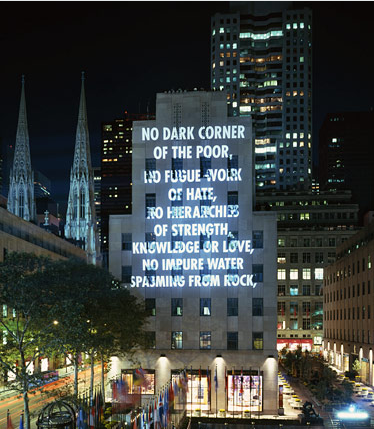 jenny holzer truisms and essays