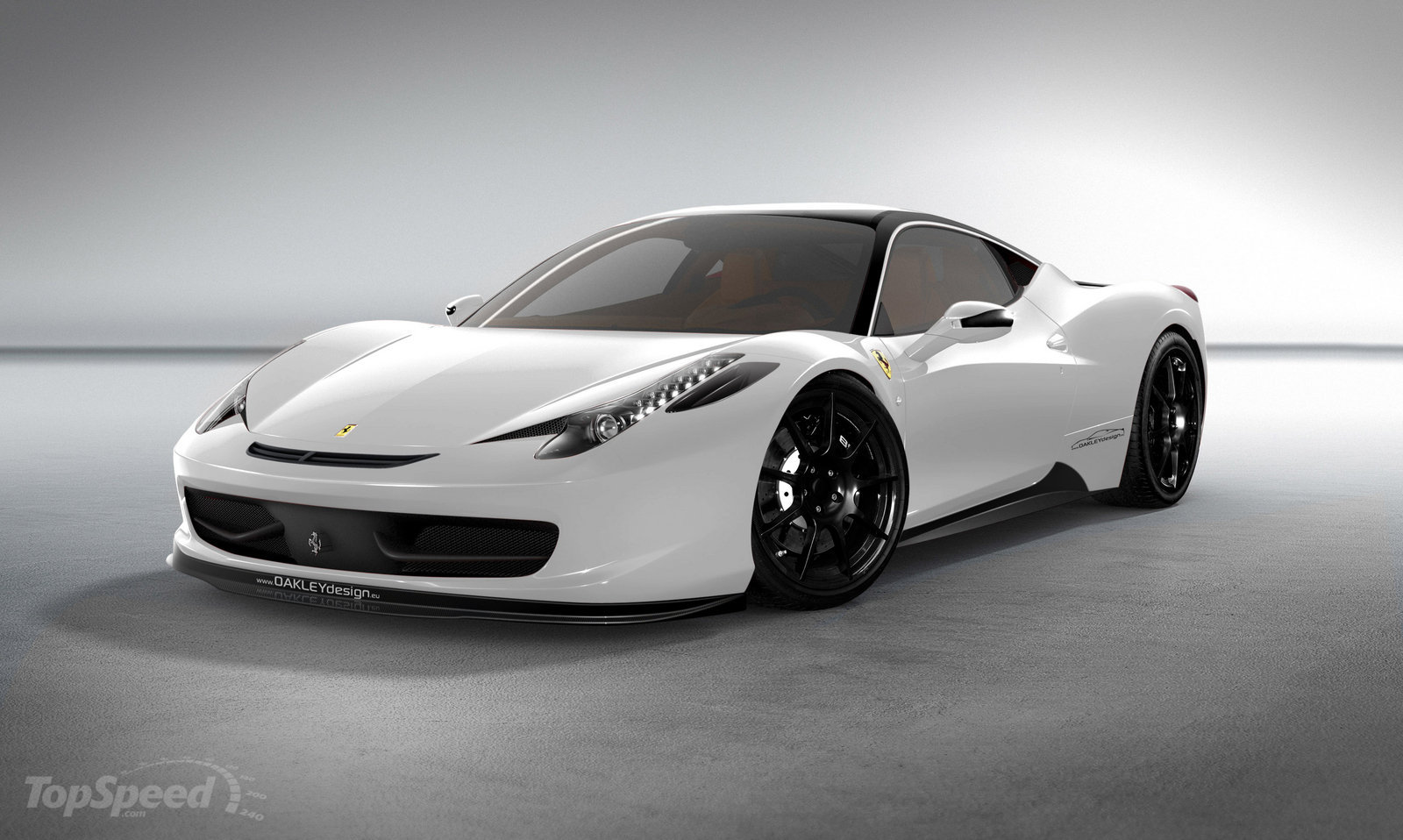 The Ferrari 458 Italia limited