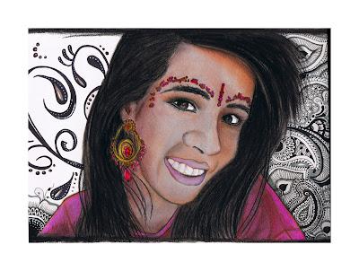 Bajidoo paisley princess warm up sketches for Henna tattoo paste walmart
