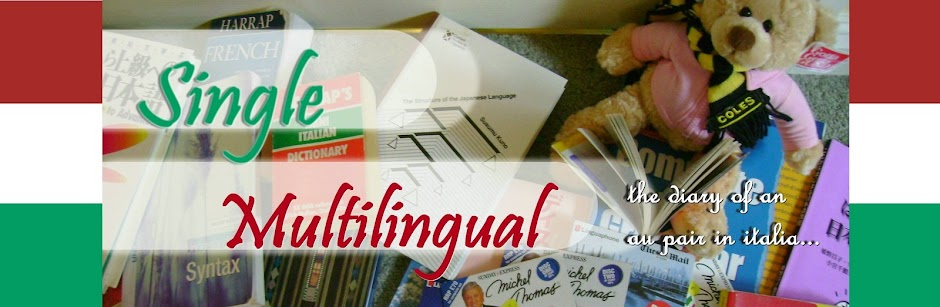 SINGLE MULTILINGUAL - The Diary of an Au Pair in Italy