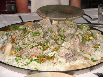 Recipes dream mansaf recipe recipe for jordanian mansaf easy recipe for the best jordanian mansaf learn how to make traditional jordanian mansaf the national dish of jordan made of lamb cooked in a sauce of forumfinder Choice Image