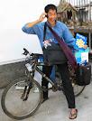 A book and a bike