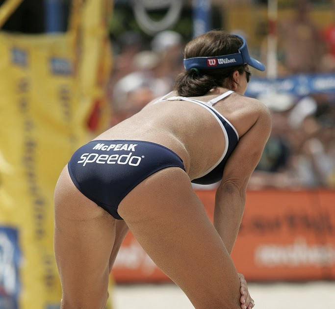 Volleyball girls ass touch opinion