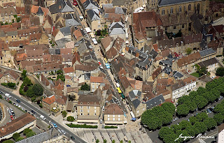 Photo aérienne Sarlat la Canéda