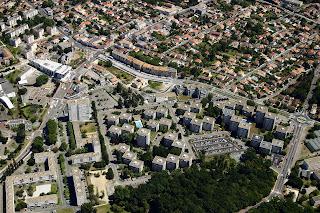 vue aerienne commune de Merignac