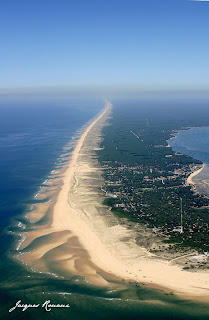 vue aerienne bassin d' arcachon