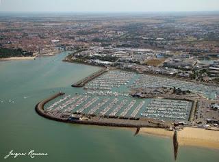 vue aérienne port des minimes à La Rochelle