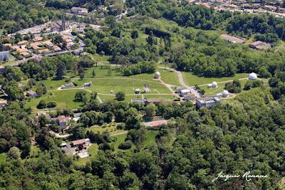 Photo aérienne de l'observatoire de Bordeaux Floirac