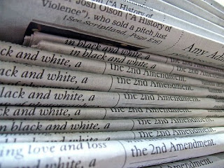 Photograph of a stack of newspapers by DRB62 on Flickr