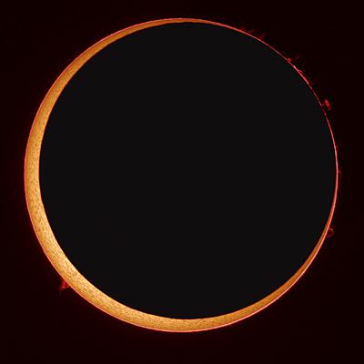 eclipse anular 2010