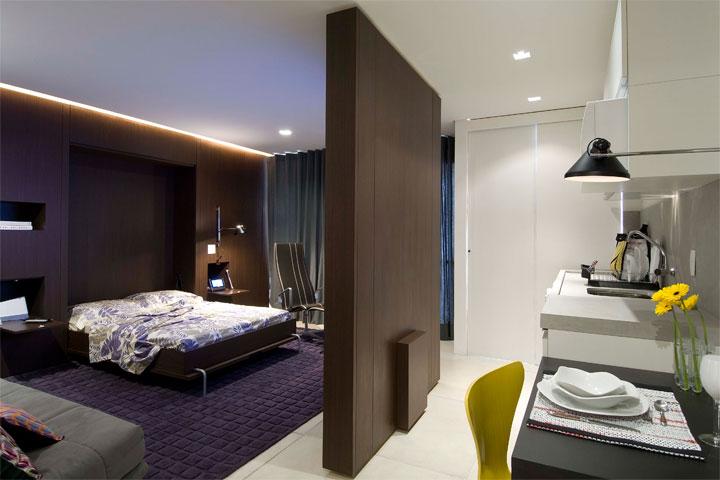 Sala Tv Quarto Hospedes ~ GIOVANNA BAZANI Apartamento de 50m² by Regina Adorno
