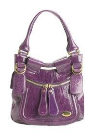 Chloe Bay Patent Hobo Bag