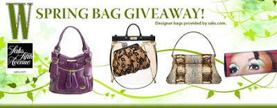 W Magazine Spring Bag Giveaway