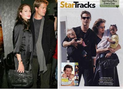 'Angelina Jolie Knockout' Clutch by Seril