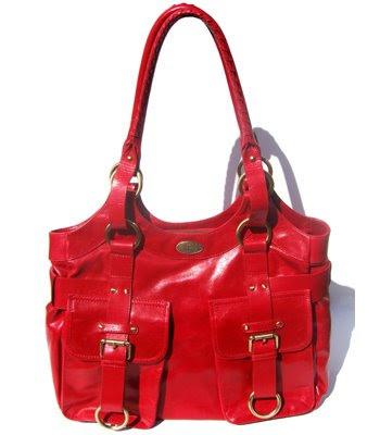 Janice Dickinson with Le PetitPas Wilm bag