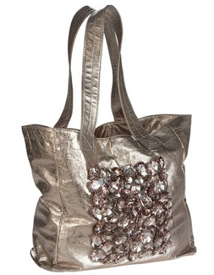Gunmetal Shoulder Bag by Deux Lux
