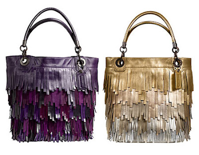 Coach Madison Fringed Tote