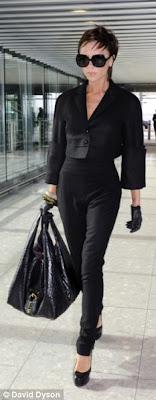 Victoria Beckham Loewe Calle no Hermes Birkin today